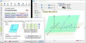 3D-Geometrie - Ebene erstellt mit dem Flächenassistenten